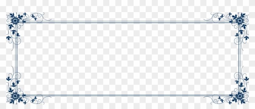 Free Golden Frame Border Png - Text Box Border Png, Transparent Png #187746