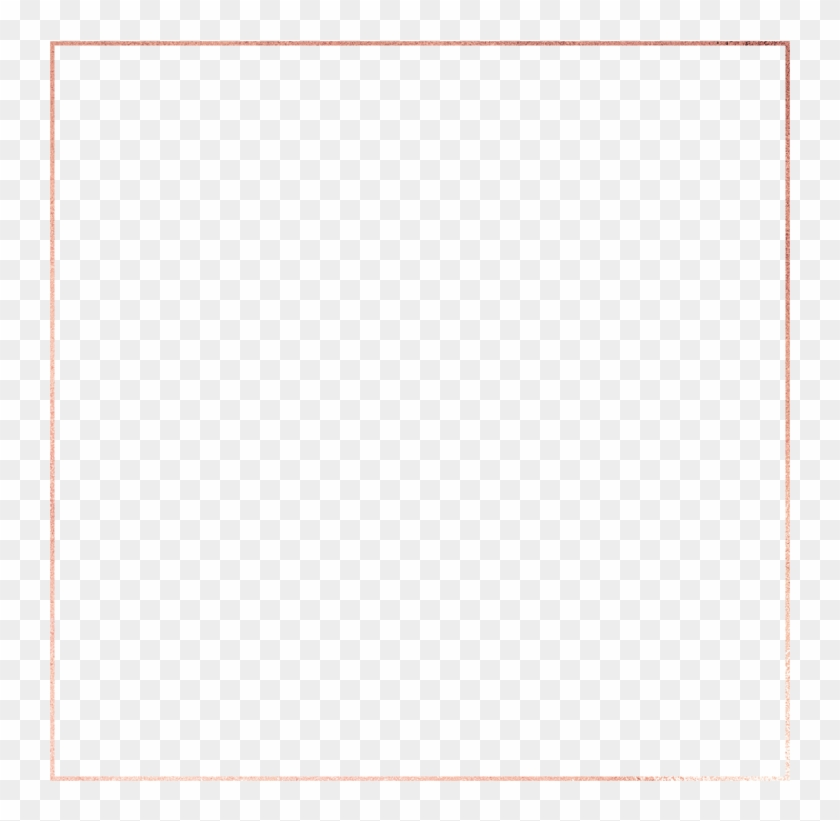 Rose Gold Frame 700w - Paper Product Clipart #188173