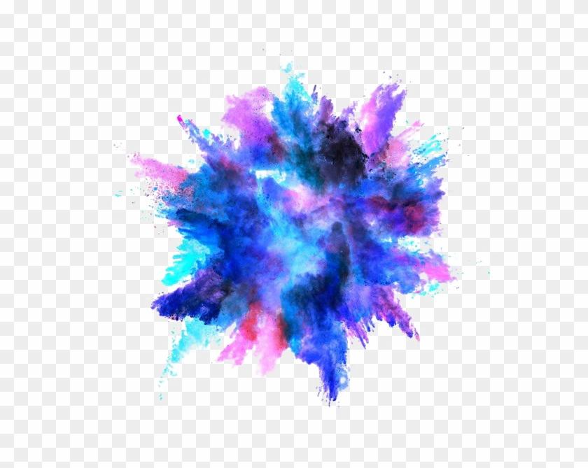 Color Png Photos - Color Powder Explosion Png Clipart #1801435