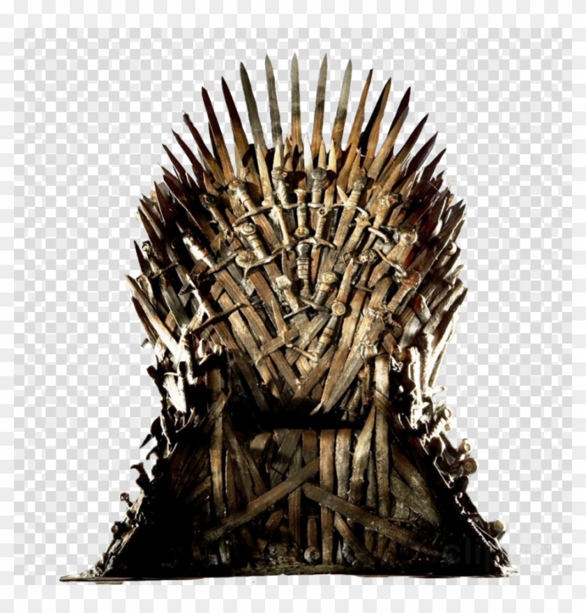 Game Of Thrones - Game Of Throne Chair Clipart #1804716