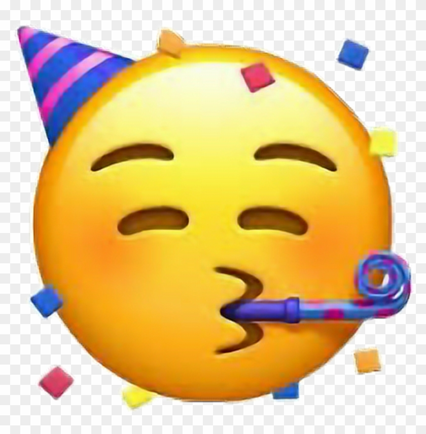 #party #stickers #birthday #happy #emoji #girl #freetoedit - Iphone Emoji Clipart #1805363