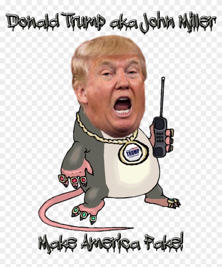 Donald Trump Cartoon Facial Expression Nose Head Human - Donald Trump Png Meme Clipart #1807688