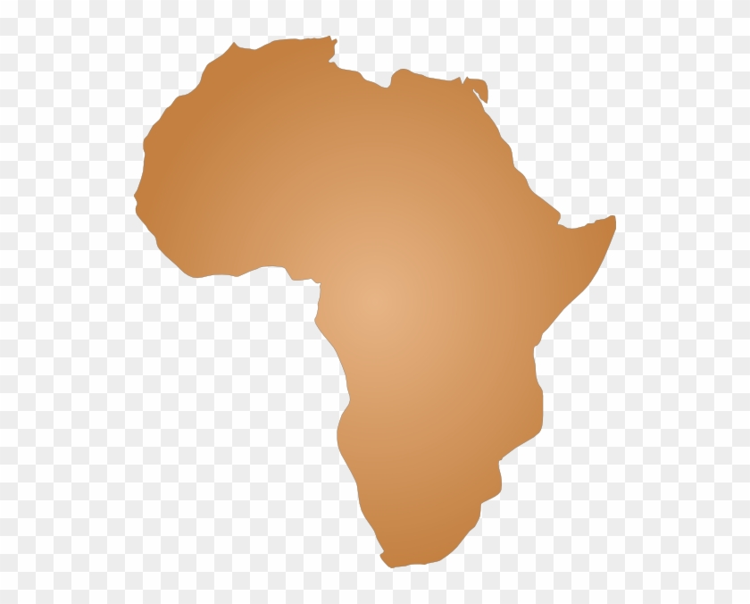 Small - Africa Map Outline Png Clipart@pikpng.com
