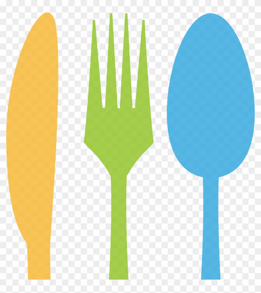 3001 X 3230 4 - Fork Knife Spoon Clipart - Png Download #1810022