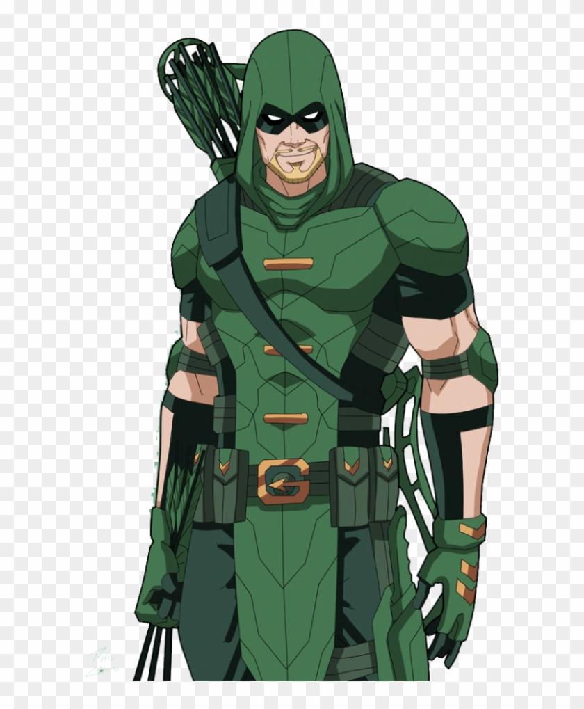 Green Arrow Dc Png Clipart #1810296