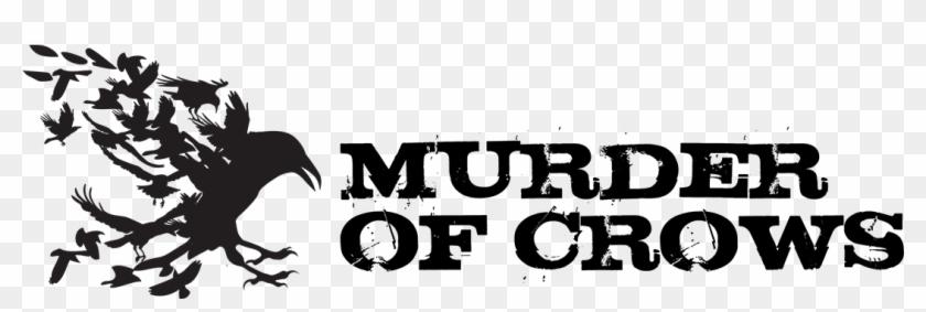 Murder Of Crow - Murder Of Crows Logo Clipart #1811873