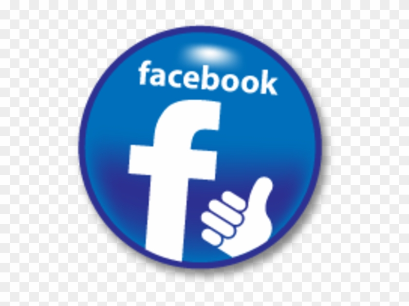 Like Us On Facebook Round Clipart #1815570