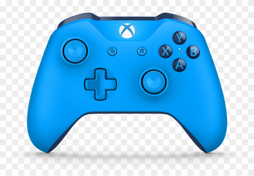 1080 X 720 0 - New Xbox One Controller Blue Clipart #1816406