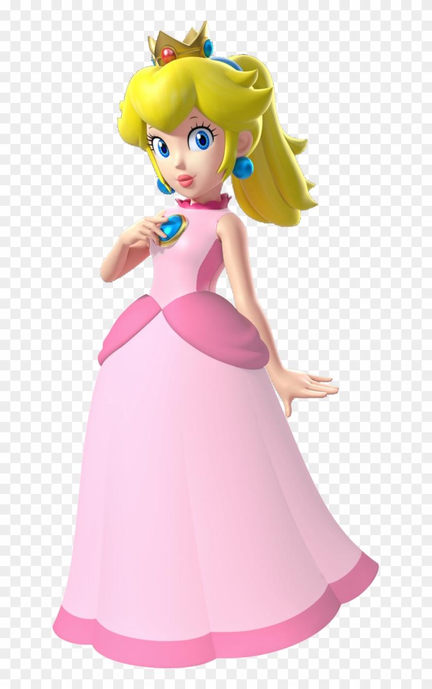 Princess Peach Clipart Hi Res Princess Peach Mario