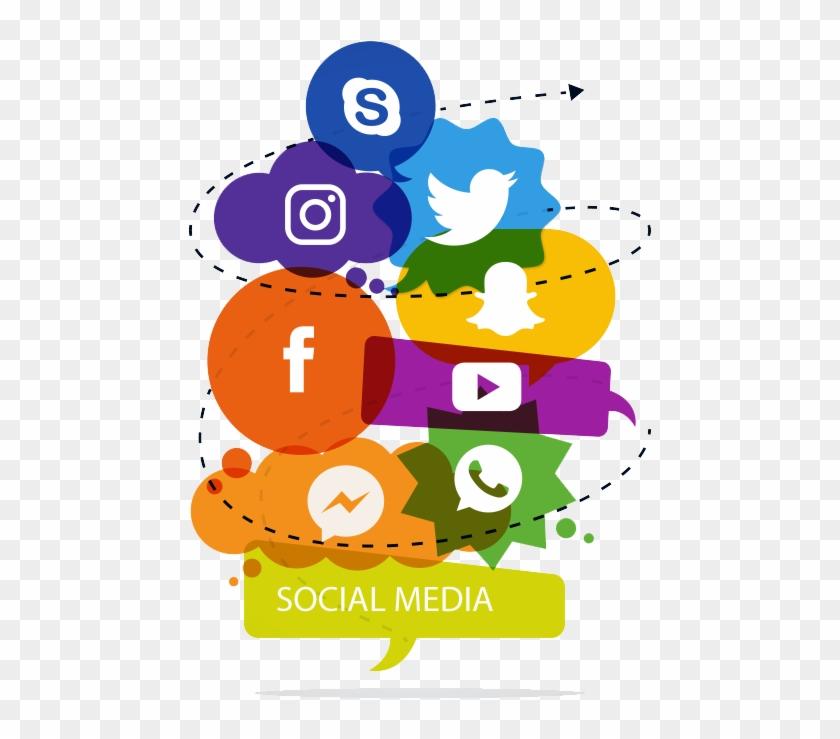 Social Media Png Clipart #1830577