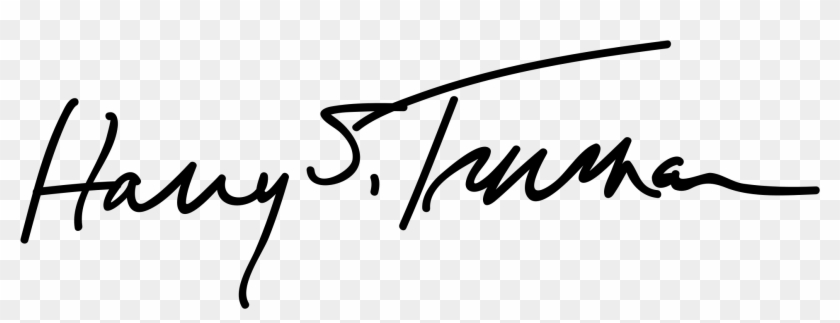 Donald Trump Signature Transparent Png Donald Trump - Truman Scholarship Clipart #1840368