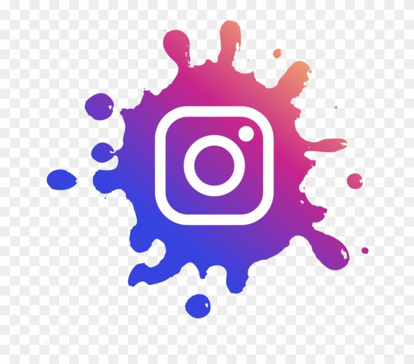 Logo Instagram Png Splash Clipart #1841066