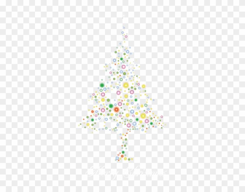 Fir Illuminating Tree Christmas Trees Free Hd Image - Christmas Tree Clipart #1844201