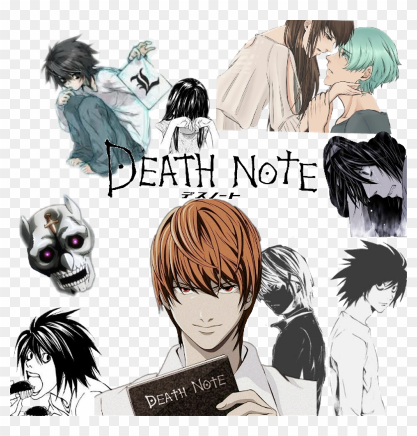 #anime #deathnote #l #kira - Death Note Clipart #1845780
