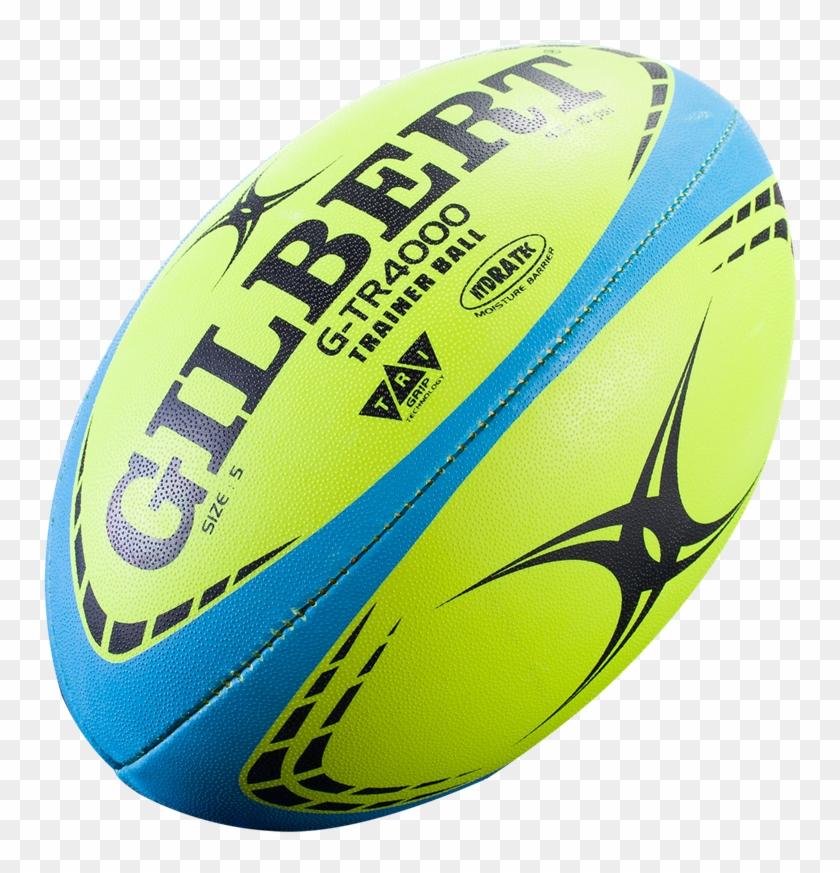 Gilbert G-tr4000 Training Rugby Ball - Gilbert Rugby Ball Clipart #1847440