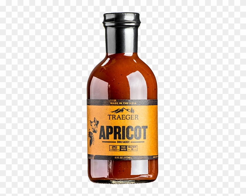 Traeger Apricot Bbq Sauce 16 Oz - Traeger Apricot Bbq Sauce Clipart #1851634