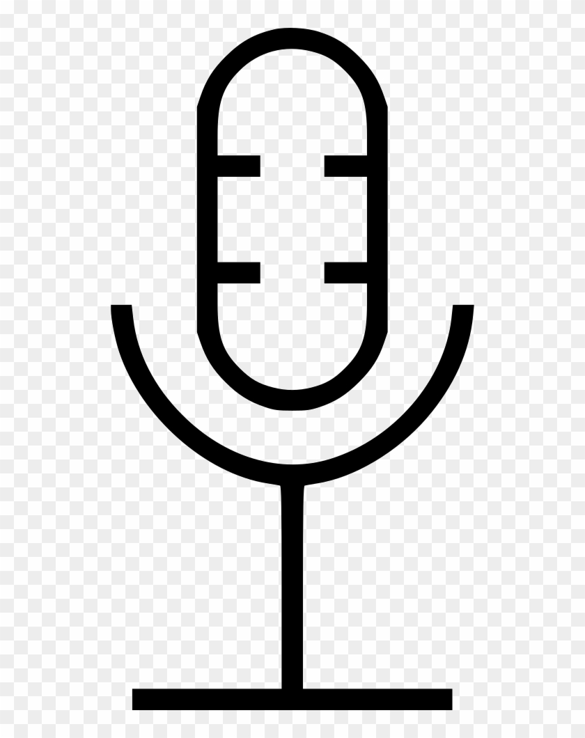 Microphone Old Comments Clipart #1856549