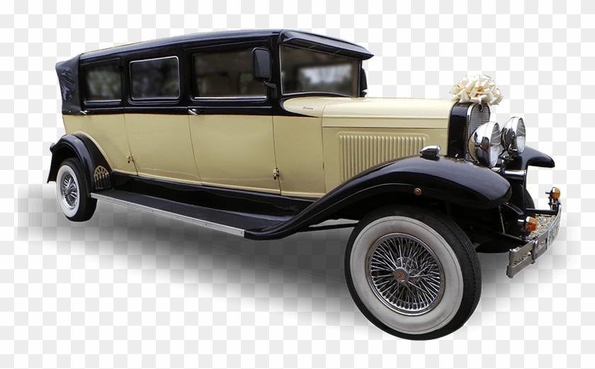 Imperial Viscount Wedding Car - Antique Car Clipart #1861800