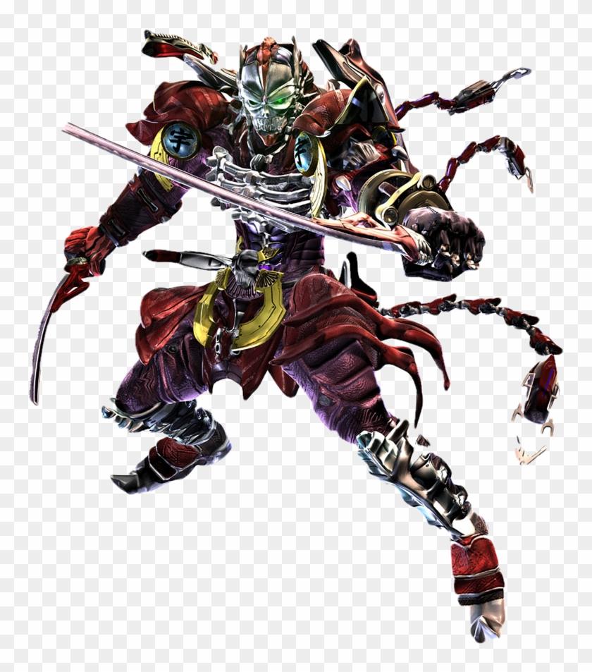 Yoshimitsu Tekken 6 Png Download Clipart 1863379 Pikpng