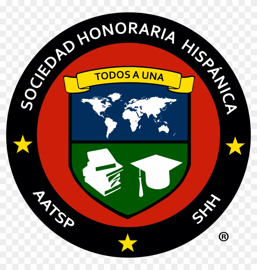 Shh Logo - Spanish National Honor Society Logo Clipart #1867614