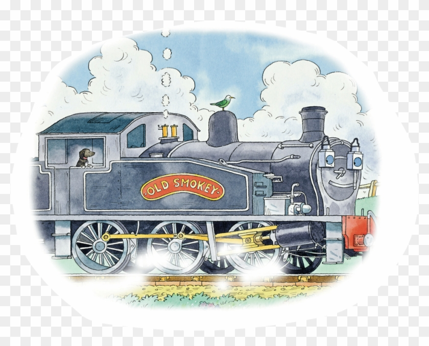 The Colne Valley Railway In Essex Was One Of The Old - Old Smokey The Steam Train Clipart #1868404