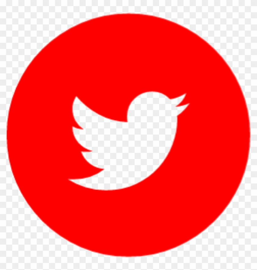 I Am From Jamshedpur, India And Currently Living In - Icono De Twitter En Rojo Clipart #1888309