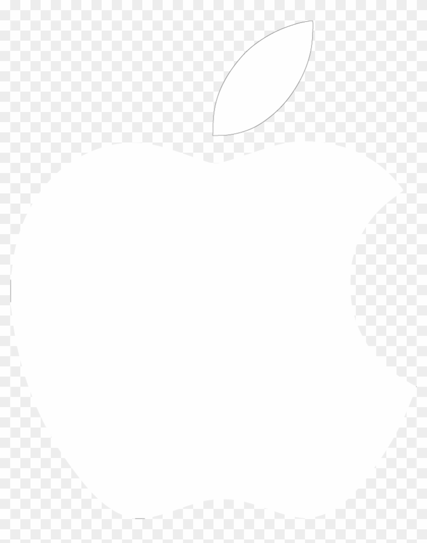 The Gallery For > Apple Logo White Transparent - Mac Logo Png White Clipart #1893690
