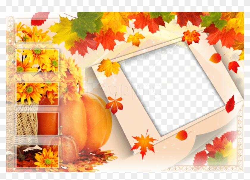 Free Png Best Stock Photos Transparent Fall Frame With - Autumn Transparent Picture Frame Clipart #1894800