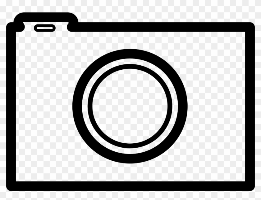 Photo Camera Outline Comments - Circle Clipart #1894938