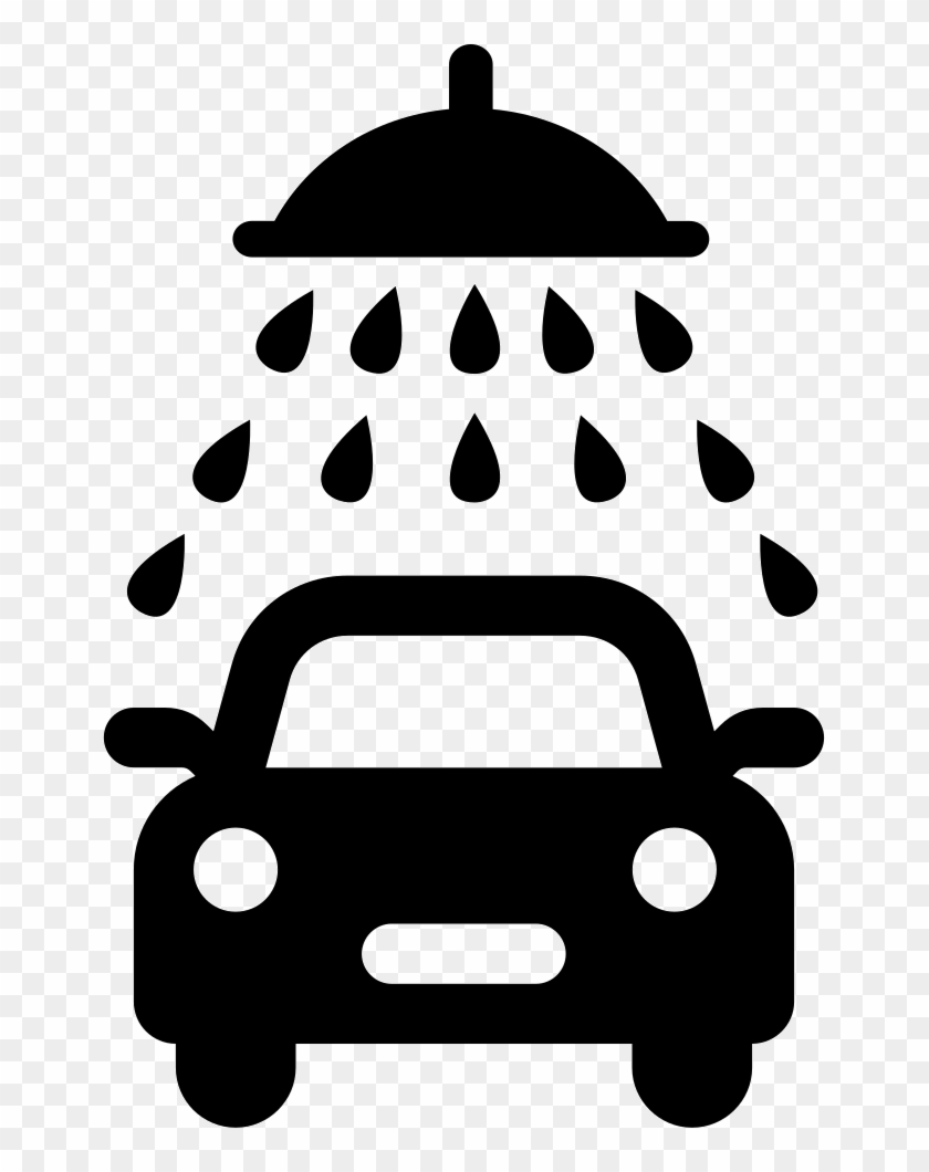 Car Wash Font - Car Wash Icon Free Clipart #1896844