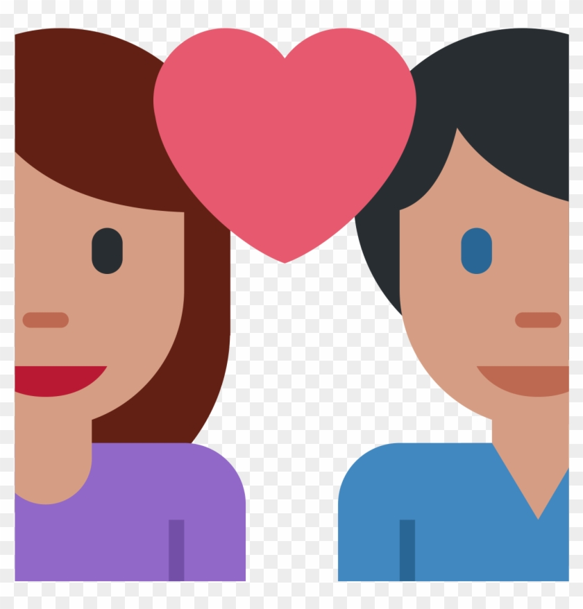 Valentines Day Couple Png Photo - Emoticones De Whatsapp Novios Clipart #191666