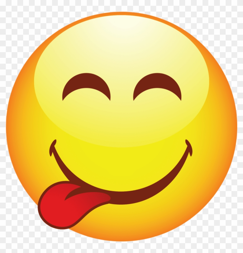 Free Png Download Smiling Face Png Images Background - Emoji Tongue Out, Transparent Png #192272
