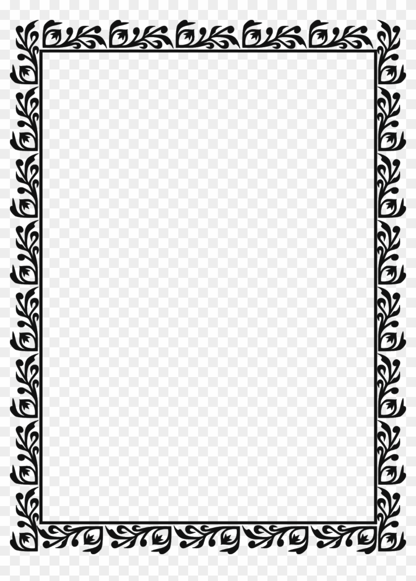 Borders For Paper, Borders And Frames, Simple Borders, - Don T Let The Pigeon Drive The Bus Worksheet Clipart #192900