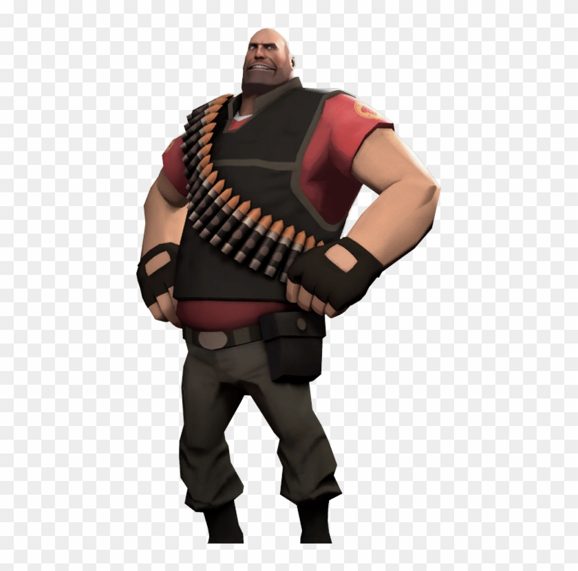 Akande From Overwatch Vs Mikhail From Team Fortress - Team Fortress 2 Loading Screen Clipart #197374