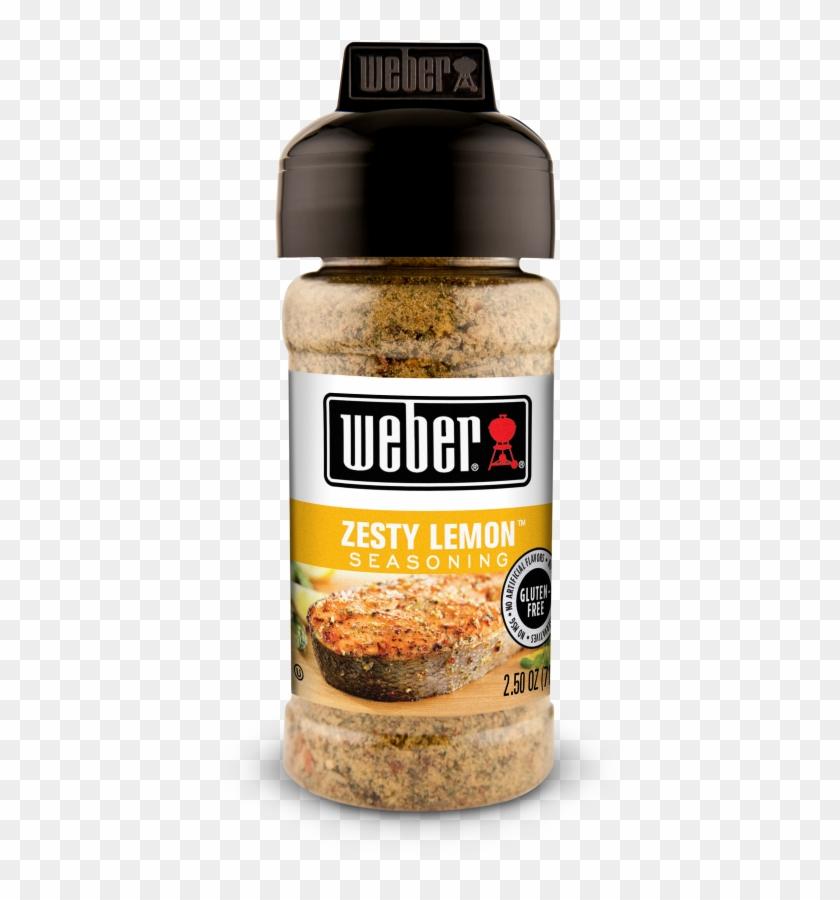 Zesty Lemon Seasoning - Weber Garlic And Herb Seasoning Clipart #1910436