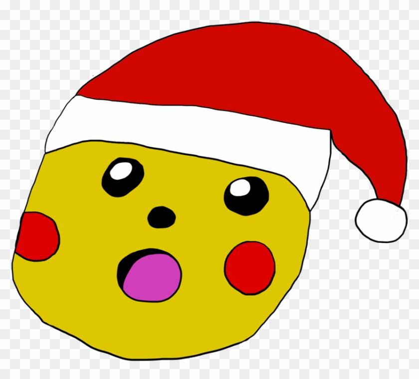 Hope On Twitter - Pikachu Meme Con Gorro De Navidad Clipart #1910722