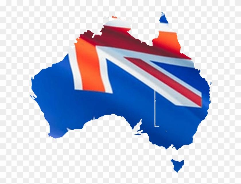 Australia - Map Of Australia State, HD Png Download ...
