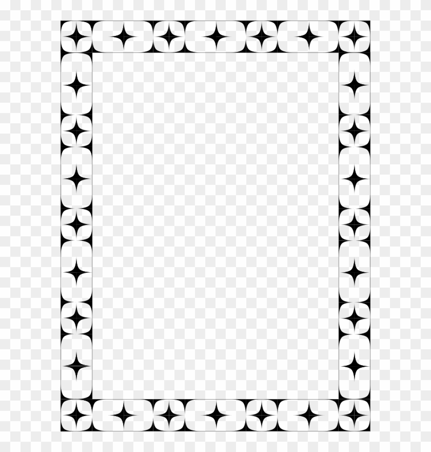 Medium Image - Black And White Frame To Color Clipart #1918236