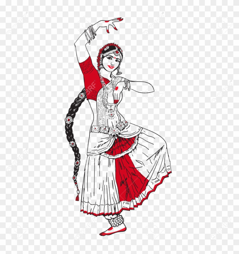Odissi Dance Clipart Dancing Girl Png Download 1920597 Pikpng