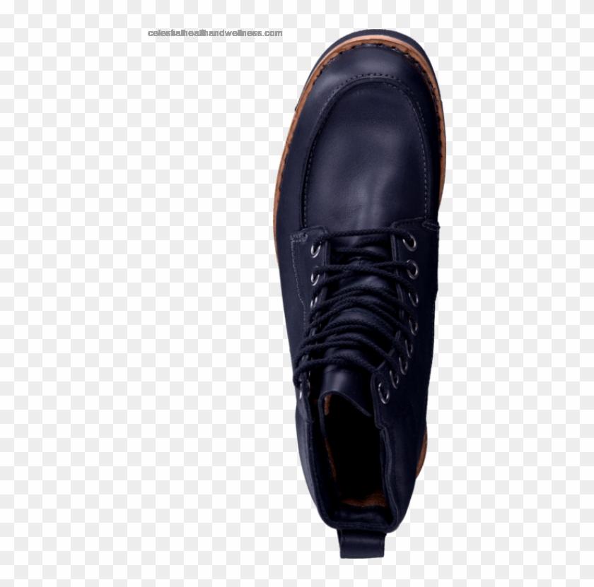 Men's Timberland 5064a Ek Rugged Moc Toe Boot Black