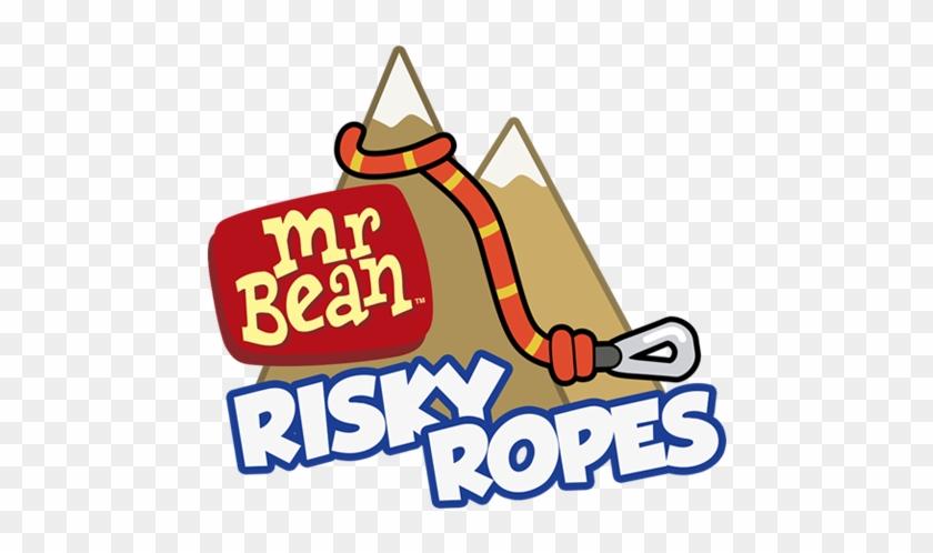 Mr Bean Risky Ropes Logo Clipart #1931922