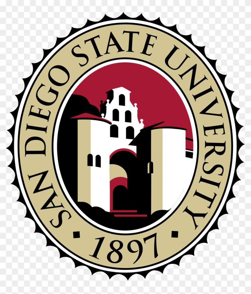 San Diego State University Seal Clipart #1938556