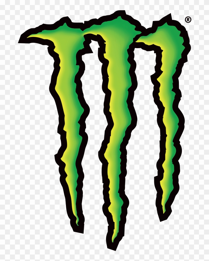 698 X 966 5 - Monster Energy Logo Png Clipart #1944032