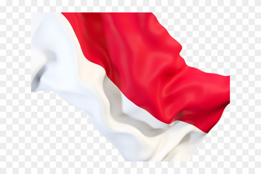 Indonesia Wave Flag Png Clipart #1946339