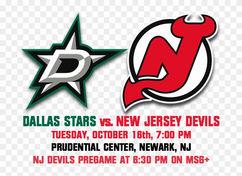 New Jersey Devils , Png Download - Nhl Team One Logo Clipart #1948433