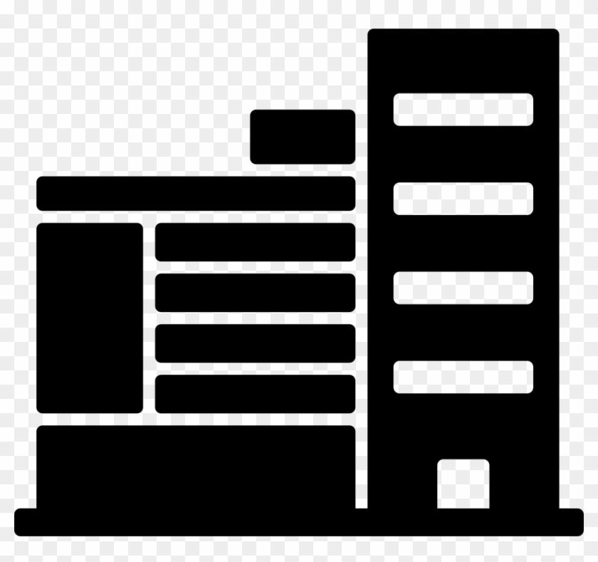 Buildings Of Straight Lines Comments - Edificio De Lineas Rectas Clipart #1954838
