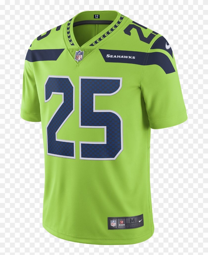 Nike Nfl Seattle Seahawks Color Rush Limited Men S Seahawks Color Rush Jersey 12 Clipart 1959955 Pikpng