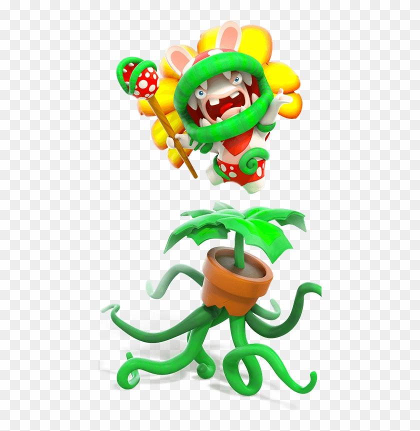 Super Mario Sunshine Mecha Bowser Mario Rabbids Piranha Plant