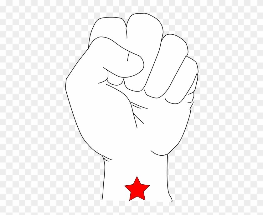Revolution Fist Svg Vector File Vector Clip Art Svg Illustration Png Download 1968111 Pikpng