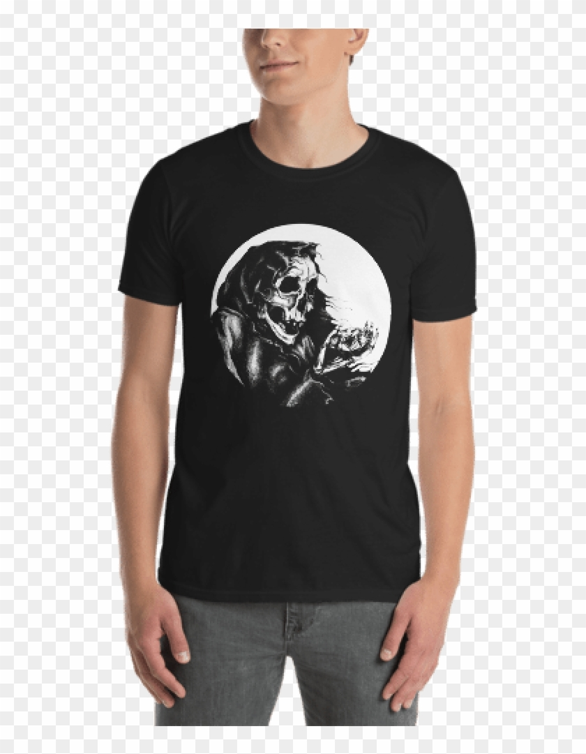 Skeleton With Diamond - Funny Discgolf T Shirt Clipart #1970115